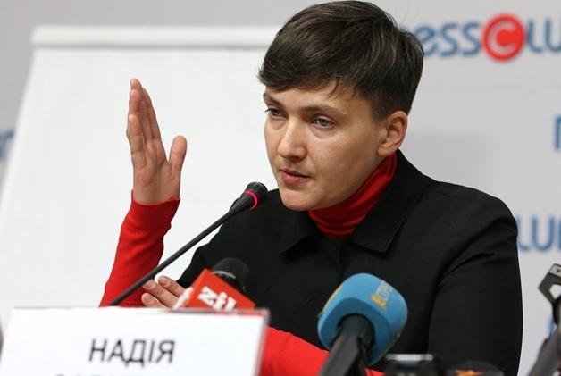 Савченко обвинила Порошенко в несамостоятельности