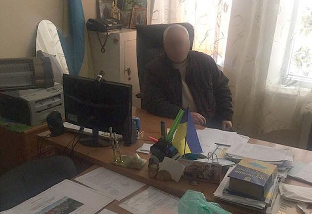 В Одесской области на взятке попался глава сельсовета