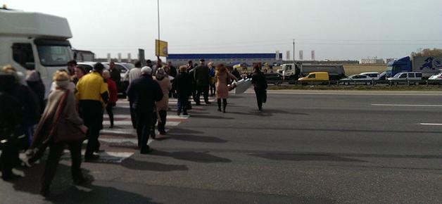 Безжалостный протест: в Киеве перекроют все въезды и выезды из города