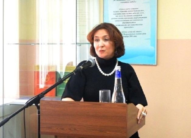 Золотая судья из Краснодарского края Елена Хахалева