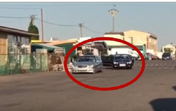 Появилось видео стрельбы на рынке в Одессе