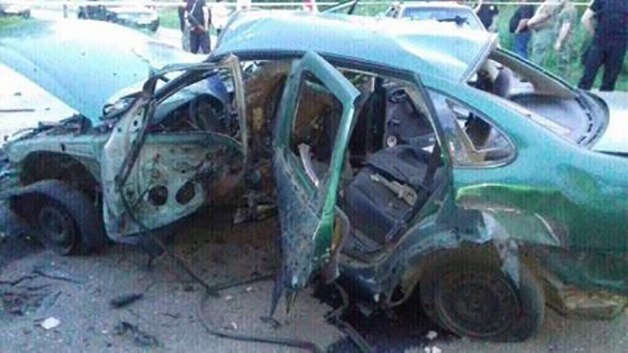 Полковника СБУ взорвали в АТО на машине с польскими номерами