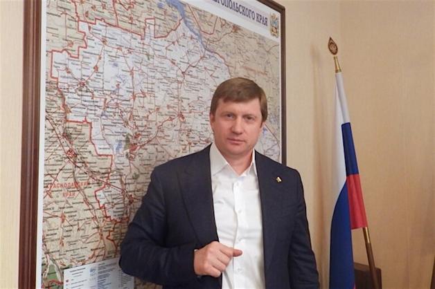 Арестован министр дорожного хозяйства Ставропольского края