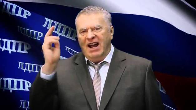 Разъяренный Жириновский отдал Крым Украине