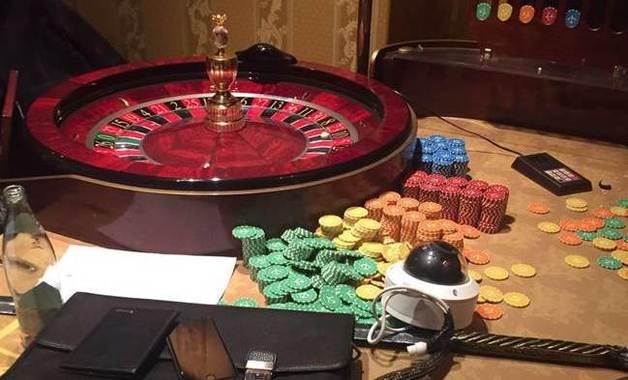 В Киеве обнаружили работающее казино, закрытое накануне