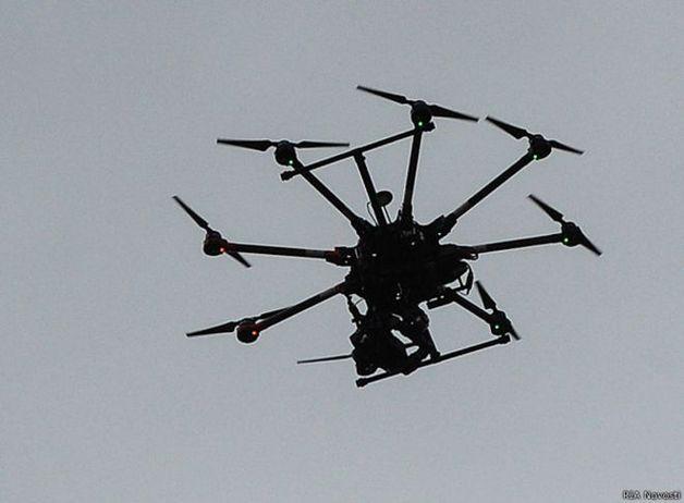 Над домом ГПУшника Бедриковского сбили дрон