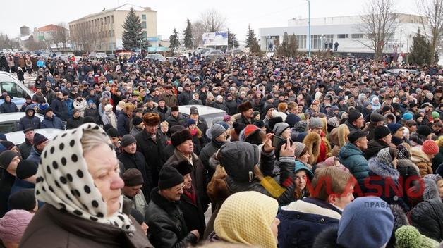 Майданы уже начались в городах Украины, ненависть народа к власти закипает