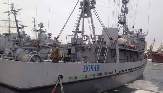 В Черном море российские снайперы обстреляли украинское военное судно - ВМС Украины