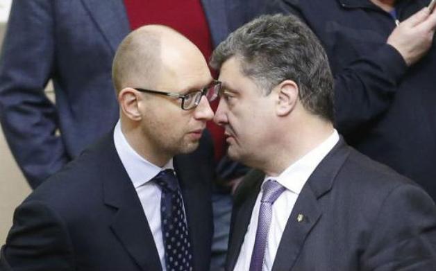 Для обмана украинцев шайки Порошенко и Авакова-Яценюка хотят объединиться