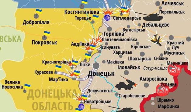 Немецкая газета обвинила Киев в эскалации конфликта возле Авдеевки