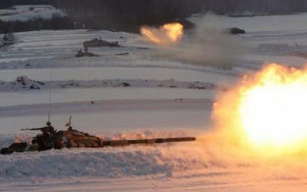 Оккупанты подвергли мощнейшему танковому обстрелу шахту «Бутовка», Опытное и Пески