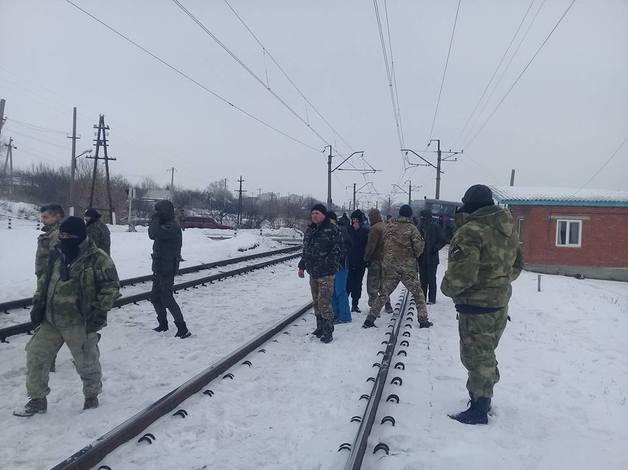 Аброськін Vs Семенченко: сутичка між поліціянтами та протестувальниками