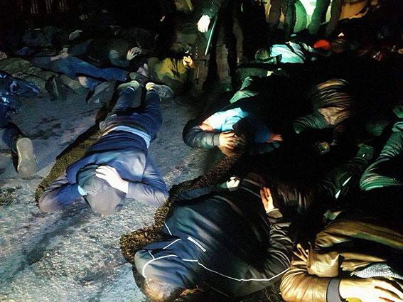 На Полтавщине задержали банду рейдеров из 40 человек