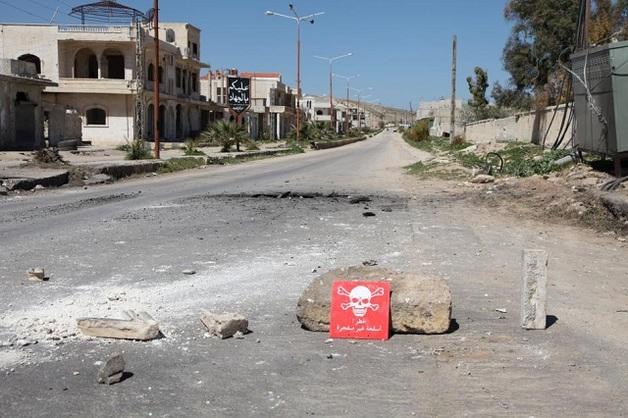Bellingcat: На месте химатаки в Сирии обнаружены элементы российской бомбы