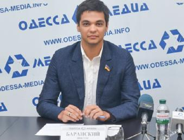 Депутат-контрабандист Одесского облсовета Баранский оказался гражданином Румынии