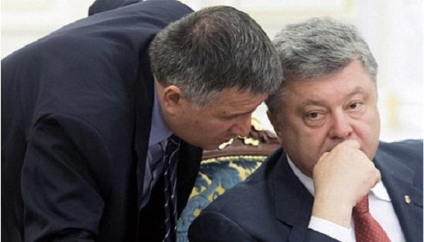 Арсен Аваков предупредил Петра Порошенко, что посадит его между Тимошенко и Ляшко
