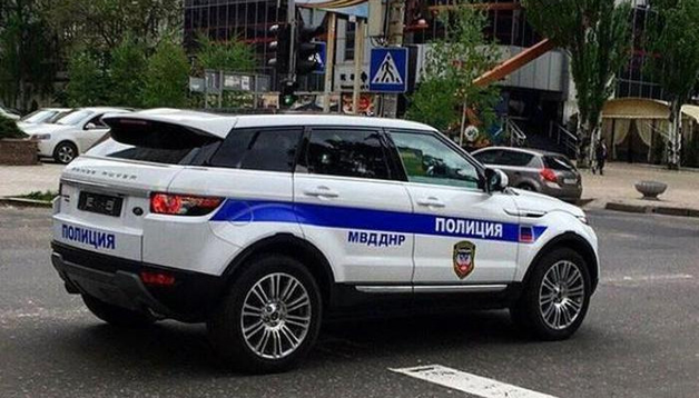 «ДНР» — почти Монако или Катар»: полиция «республики» разъезжает на иномарках класса «люкс»