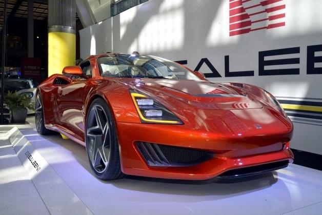 В Лос-Анджелесе дебютировало спортивное купе Saleen S1