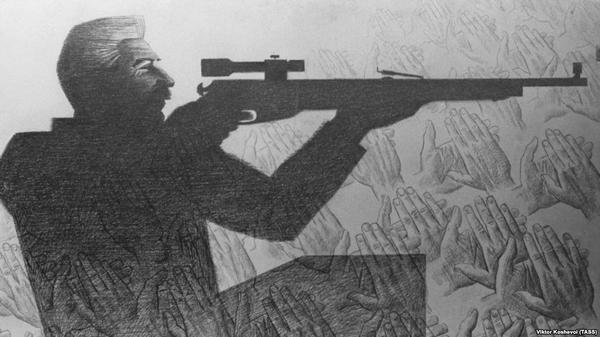 Социопат Сталин и его цветные карандаши