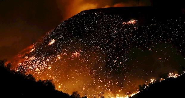 Огненный ад: появились жуткие фото последствий пожара в Калифорнии