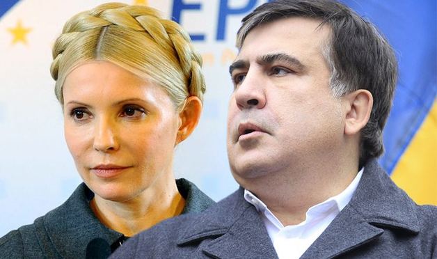 Саакашвили Премьер, Тимошенко Президент: на Западе сделали выбор