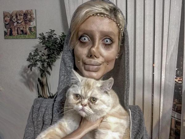 Девушка-зомби из Ирана всех обманула