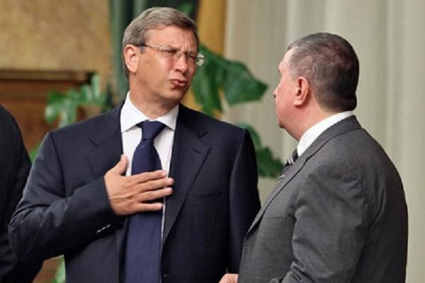Сечин с Евтушенковым — нефтяные Пересвет с Челубеем