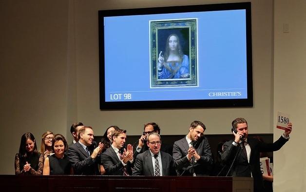 Покупателем шедевра Леонардо да Винчи у миллиардера Рыболовлева за $450 млн оказался саудовский принц