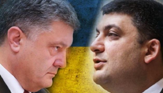 Гройсман подозревает, что Порошенко хотел подложить под него «взрыв» показным задержанием Ежова