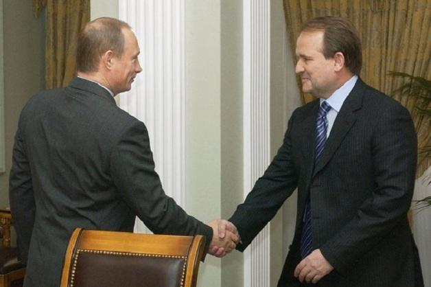 Путин — Медведчук: подробности встречи 10 января