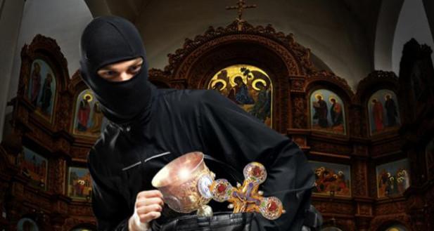 В Святошинском районе столицы сегодня ограбили церковь