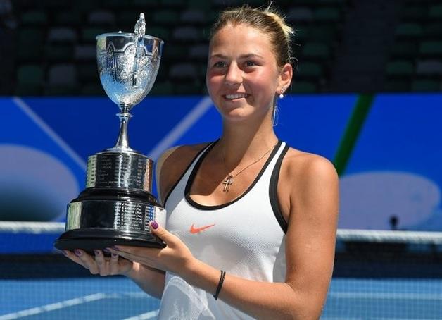 15-летняя украинская теннисистка добыла невероятную победу на взрослом Australian Open