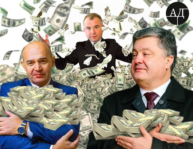 На посту президента Порошенко продолжает согласовывать зарплаты сотрудникам своей корпорации. В конвертах