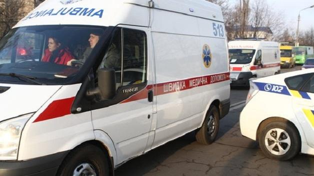 В Киеве мужчина проломил голову зятю