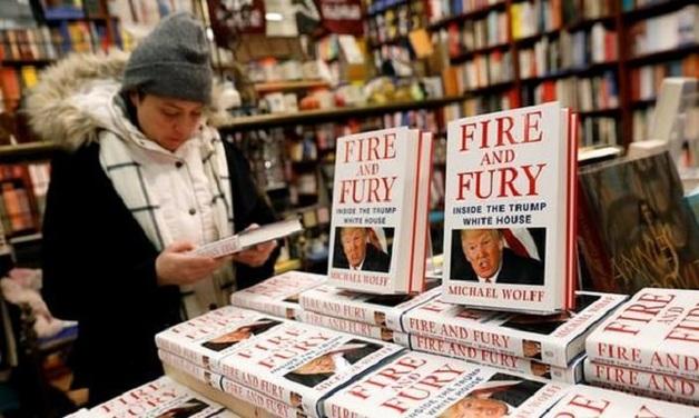 Огонь и ярость: избранное из скандальной книги о Дональде Трампе