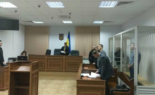 За «поджигателей» назначили 2,2 миллиона гривен залога