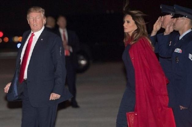 Мелания Трамп жестоко обошлась с президентом