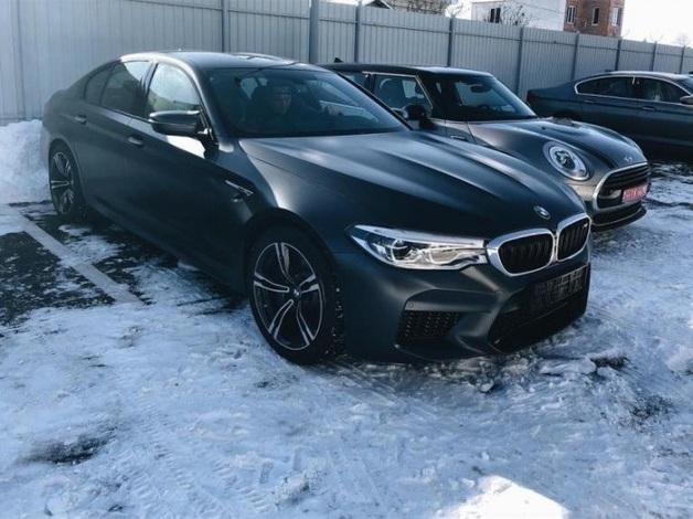 В Украине засветилась самая быстрая BMW M5