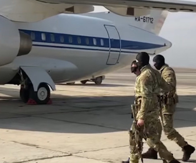 Обнаружен самолет, на котором летает спецназ ФСБ