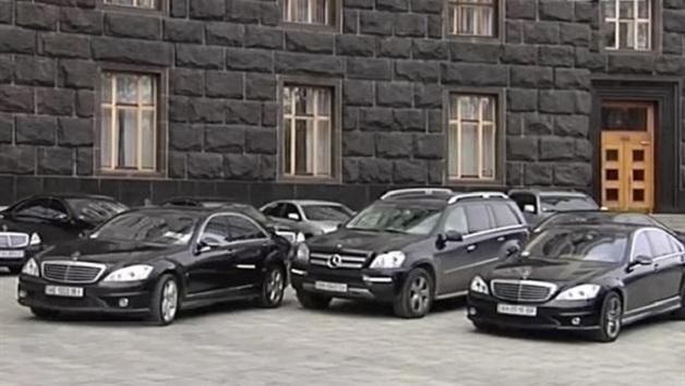 Кабмин потратил 22 млн на автомобили