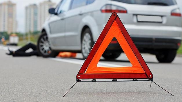В Буче пьяный подполковник на «евробляхе» разбил две машины