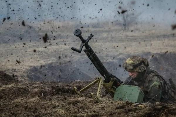 На Донбассе прошел пятичасовой бой: силы АТО выстояли