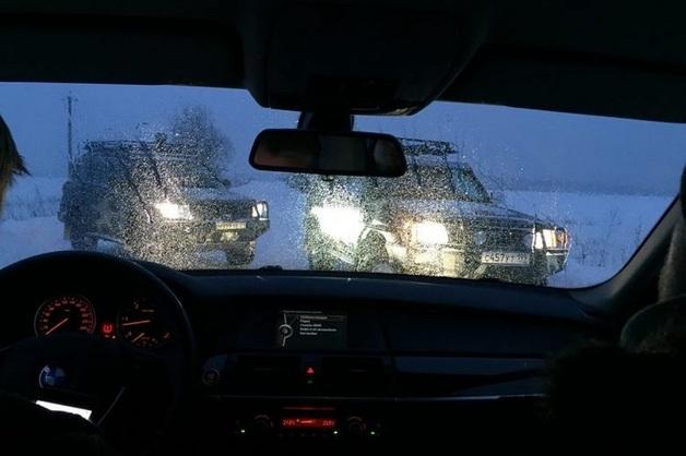 Журналистов блокировали на дороге у охотхозяйства, где иногда охотится Сечин