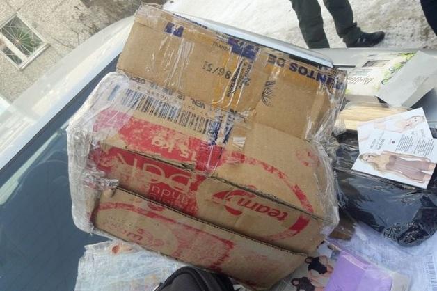 Посылка из Колумбии с крупной партией кокаина под видом крема для депиляции перехвачена ФСБ на Урале