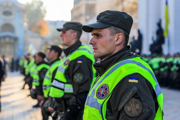 НГУ сняла охрану с Шевченковского райсуда Киева, отпустившего стрелка по полицейскому