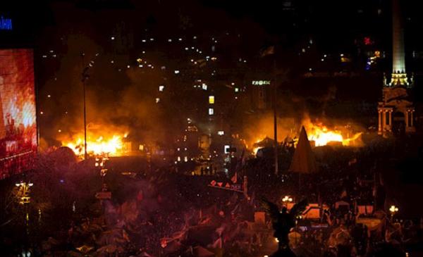 """""""Спецоперация"""": опубликовано уникальное видео начала штурма Майдана"""