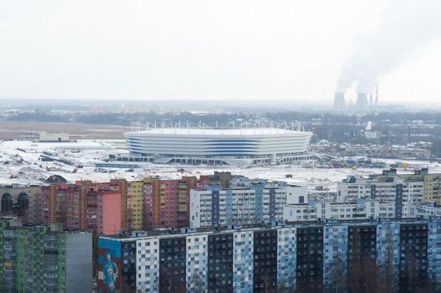 В России стадион к ЧМ-2018 начал проваливаться под землю