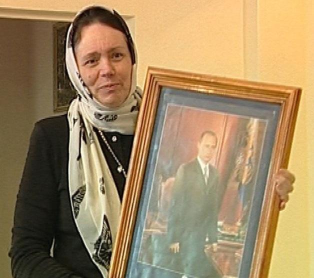 Икона Владимира Путина замироточила перед выборами