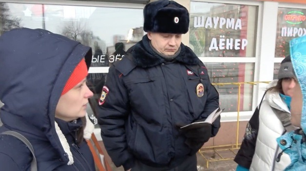 Россиян загнали «как скот» перед проездом кортежа Путина