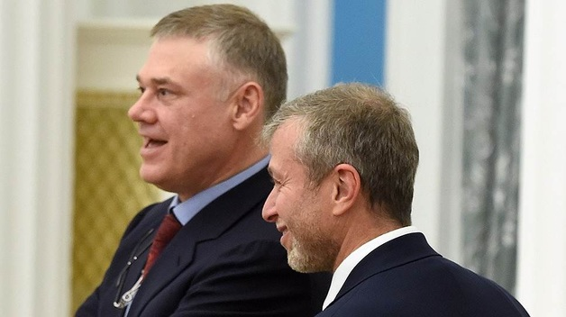 Абрамович и Фролов, акционеры Евраз